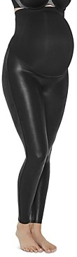 Spanx Mama Maternity Faux Leather Leggings