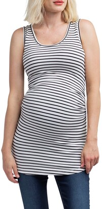 Nom Maternity Joey Ruched Maternity Tank