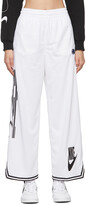 Thumbnail for your product : Nike White Jersey Sportswear Lounge Pants