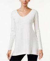 Thalia Sodi Asymmetrical Tunic Sweater, Only at Macy's
