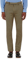 Gucci Men's Houndstooth Slim Trousers