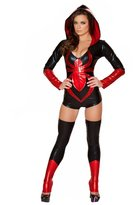 Happy Co. Happy&co Women's Cosplay Spiderman Superman PU Costume