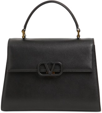 Valentino VSLING GRAINED LEATHER TOP HANDLE
