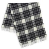 Max Mara Cadine Wool Plaid Scarf