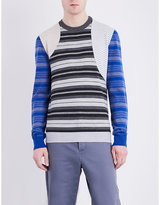 Loewe Patchwork Stripes Knitted Jumper