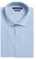 Michael Kors Checked Regular-Fit Dress Shirt