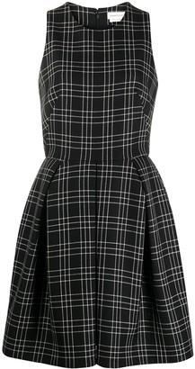 Alexander McQueen Check Sleeveless Dress