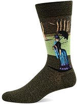 Hot Sox Men's Artist Series Crew Socks