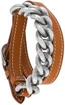 Hermes chain wrap bracelet