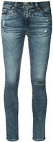 AG Jeans skinny distressed jeans - women - Cotton/Polyurethane - 24