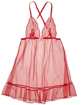 L'Agent by Agent Provocateur Gianna Lace Babydoll Chemise
