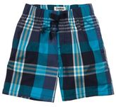 Osh Kosh Pull-On Plaid Shorts