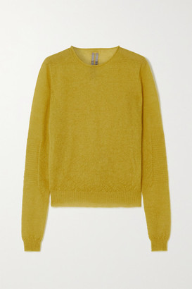 Rick Owens Knitted Sweater - Yellow