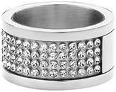 Dyrberg/Kern Dyrberg Kern Emily Swarovski CrystaI Ring, Silver