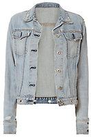 Rag & Bone JEAN Avenida Studded Denim Jacket