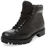 Prada Leather Padded Boot
