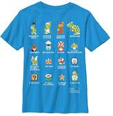 Nintendo Boys' Pixel 9 Cast Graphic T-Shirt