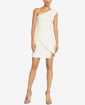 BCBGMAXAZRIA Aryanna One-Shoulder Dress