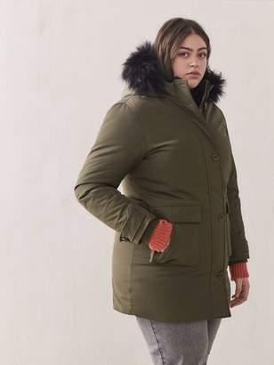 Hooded Down Parka - Addition Elle
