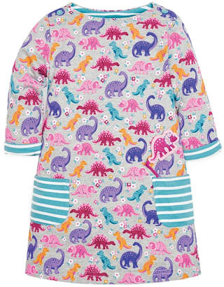 Jo-Jo Jojo Maman Bebe Pocket Dino A-Line Dress