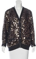 Marc Jacobs Wool Embellished Cardigan