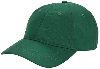 Lacoste Solid Training Cap (Green) Caps
