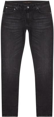Nudie Jeans Skinny Lin dark grey jeans