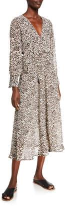 STYLEKEEPERS The Viper Leopard-Print Maxi Dress