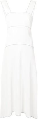 Proenza Schouler White Label Contrast Stitching Sundress