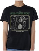 Global Alice Cooper Men's LITD '71 T-Shirt Black-medium