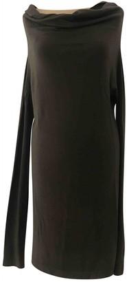 Rick Owens Brown Wool Dress for Women