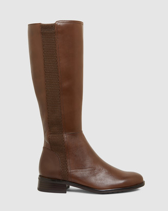 Jane Debster - Women's Brown Knee-High Boots - Ignite - Size One Size, 37 at The Iconic