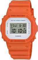 G-Shock Men's Digital Orange Bracelet Watch 43mm DW5600M-4