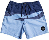 Quiksilver Heatwave Blocked Volley Youth Short (Boys 8-14 Yrs)