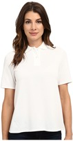 Lacoste Short Sleeve Pleated Back Pique Polo
