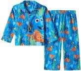 Disney Pixar Finding Dory Nemo Toddler Boy Shirt & Pants Pajama Set