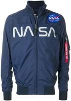 Alpha Industries Nasa Flight bomber jacket