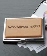 Etchey Card Holders - Personalized Avery Metal Business Card Holder