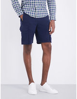 Ps By Paul Smith Cargo Stretch-cotton Shorts