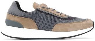 Ermenegildo Zegna Knit-Panelled Sneakers