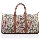 Signare Fashion Tapestry Holdall/ Weekender/Luggage Bag in Morning Garden Design