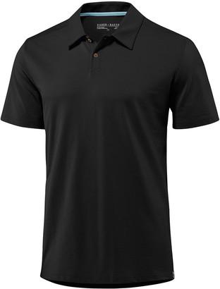 Fisher + Baker Men's Kent Asymmetric-Button Polo Shirt