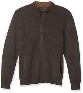 Pendleton Men's Shetland Full Zip Cardigan Sweater