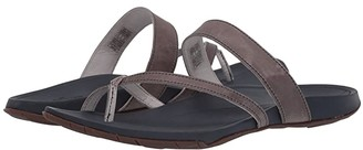 Chaco Lost Coast Leather (Gray) Women's Shoes