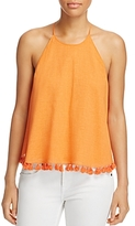 Tory Burch Lindsay Tassel Trim Top