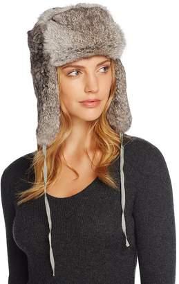 Crown Cap Rabbit Fur Russian Aviator Hat
