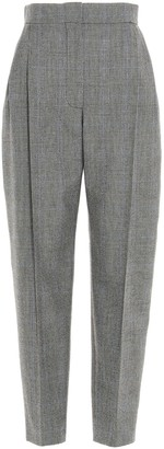 Alexander McQueen Houndstooth Tapered Trousers