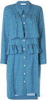 Peter Jensen frill front patterned dress