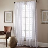 Manhattan Sheer Rod Pocket Window Curtain Panel