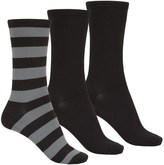 K. Bell Soft and Dreamy Socks - 3-Pack, Crew (For Women)